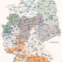 deutschland postleitzahlenkarte vektor plz  mit