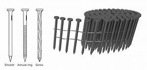 15  U00b0 Coiled Nails For Pneumatic Nail Gun Operation