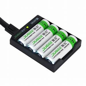 Batterie 1 5v Aa : jugee 4pcs 3000mwh aa rechargeable li polymer li ion polymer lithium battery 1 usb charger ~ Markanthonyermac.com Haus und Dekorationen