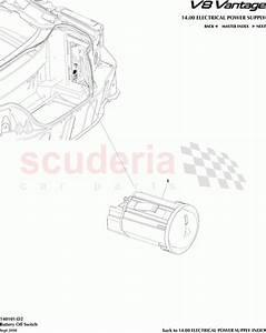 Aston Martin V8 Vantage Battery Off Switch Parts