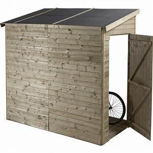 Cache Poubelle Brico Depot : abri v lo bois naturelle x x cm ~ Dailycaller-alerts.com Idées de Décoration
