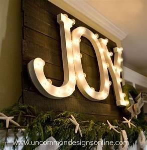 joy letters in light uncommon designs paper mache With paper mache letter lights