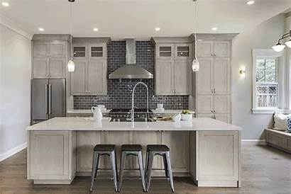 Grey Cabinets Kitchen Kitchens Power Cabinetry Fabuwood