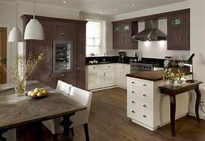 kitchen colour schemes With kitchen cabinet trends 2018 combined with nature framed wall art