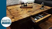 build a coffee table How to Build a Coffee Table // DIY - YouTube