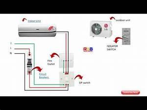 Air Conditioner Split System Diagram