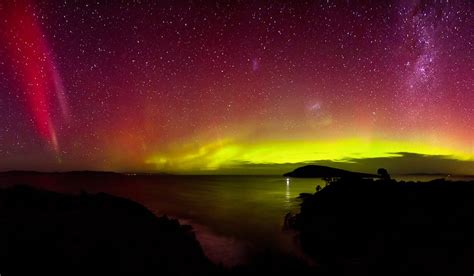 how to see tasmania s stunning southern lights in the