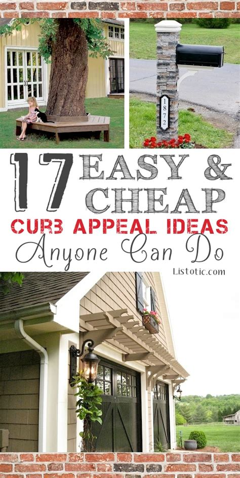 17 Easy And Cheap Curb Appeal Ideas Anyone Can Do (on A