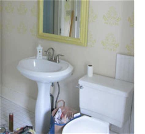 home dzine bathrooms   hide  disguise  pedestal sink