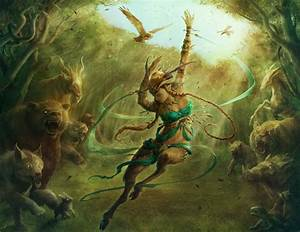 Satyr Grovedancer by JasonEngle on DeviantArt