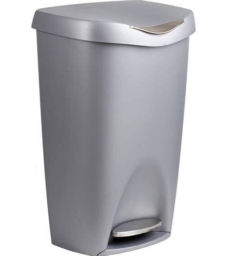 designer kitchen trash cans umbra 50 liter step garbage can in kitchen trash cans 6642