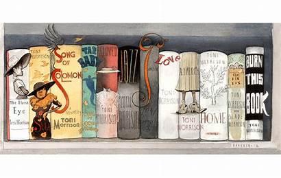 Bookshelf Morrison Toni Brodner Steve