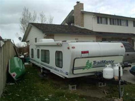 small cing trailers this item has been sold recreational vehicles travel trailers 2000 trailmanor 3124 king