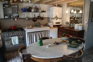 decoration cuisine maison de campagne With deco cuisine maison de campagne
