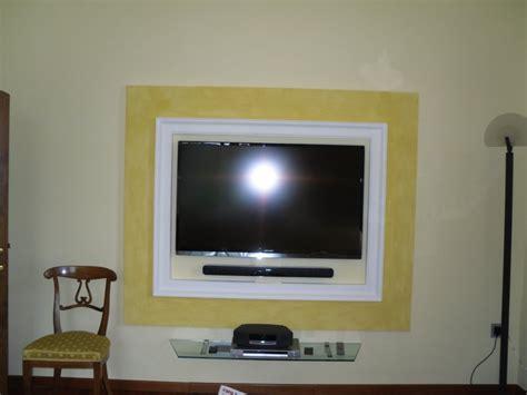 Cornice In Cartongesso Per Tv by Doppia Cornice Per Incasso Tv Foto