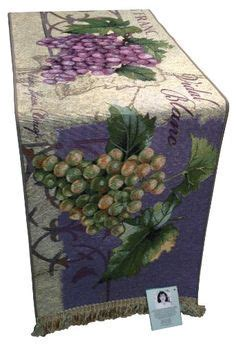 table runner: NEW 865 TABLE RUNNERS GRAPES