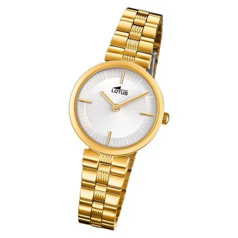 armbanduhr damen gold lotus damen armbanduhr edelstahl gold 18543 1 quarz bliss