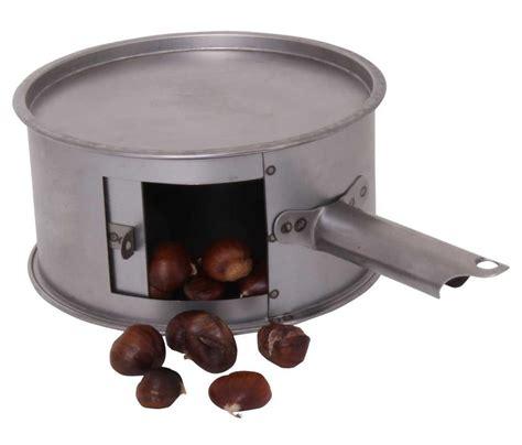poele à bois pour cuisiner diable à marrons tom press