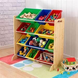 Bac De Rangement Jouet : meuble de rangement en bois 12 bacs pour enfant ~ Teatrodelosmanantiales.com Idées de Décoration