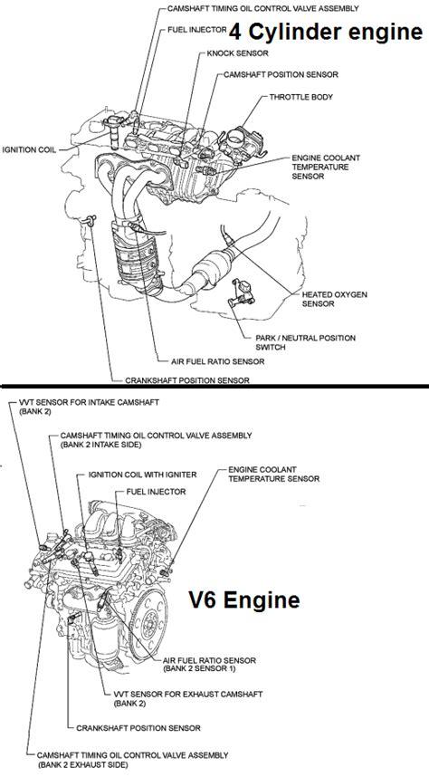 p  toyota camry crankshaft position sensor  circuit