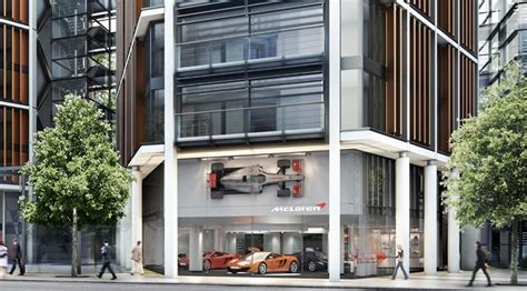 mclaren dealership mclaren reveals new london dealership by car magazine