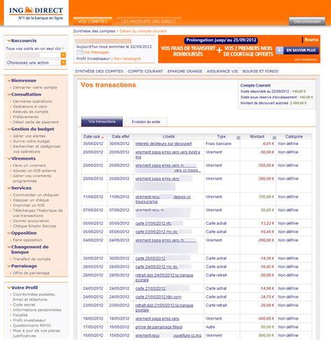 plafond virement ing direct topic votre banque votre thune sur le forum blabla 18 25 ans 22 09 2012 23 13 02