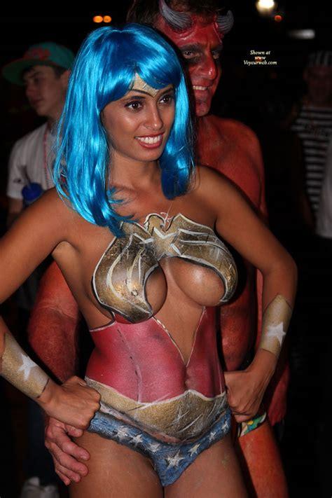 Nude Girl With Bodypaint December Voyeur Web