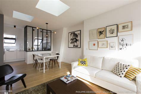 cuisine appartement parisien comment transformer d anciennes chambres de bonne en un appartement chaleureux philippe