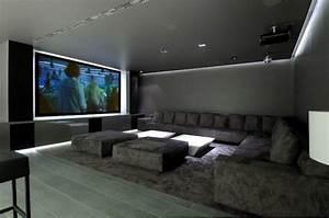 Projecteur Cinema Maison : 16 id es pour am nager et d corer votre home cinema deco maison salle de cin ma maison et salle ~ Melissatoandfro.com Idées de Décoration