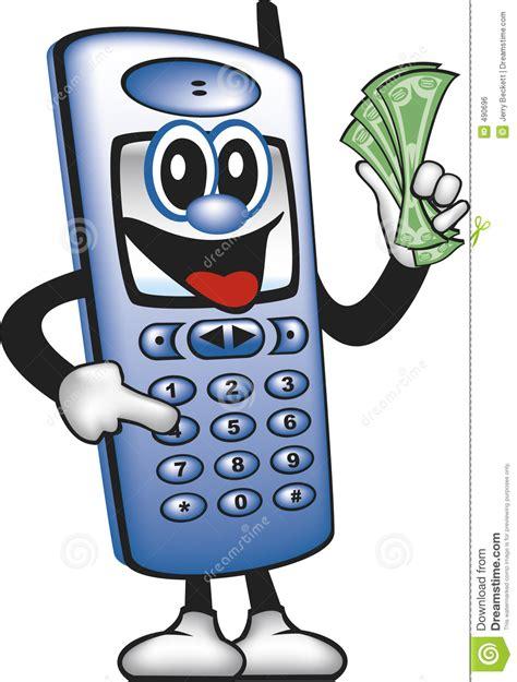 no money phones cell phone saving money royalty free stock image