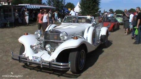 Excalibur phaeton serie 04 (IV) car (roadster) in motion ...