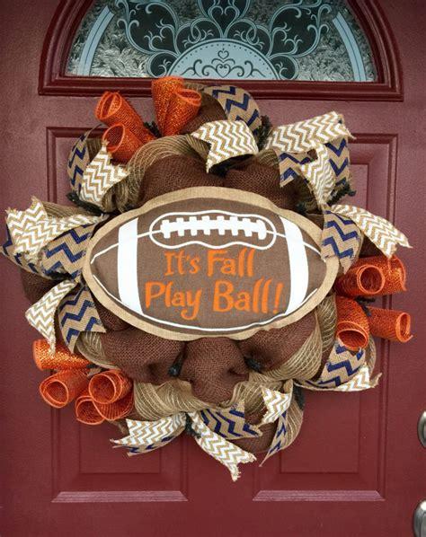 Football Wreath Decorations - 115 cool fall wreath ideas shelterness