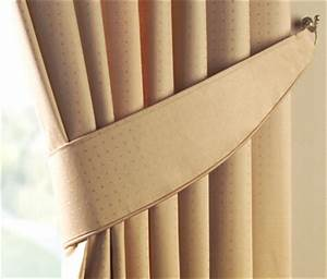 64 diy curtain tie backs guide patterns for Curtain tie backs placement