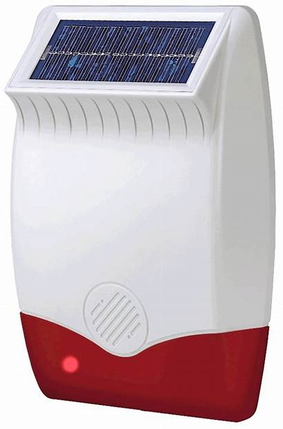 Response Siren Alarms Solar 418mhz Wirefree S100