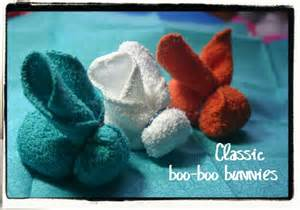 Boo Boo Bunny Towel Folding