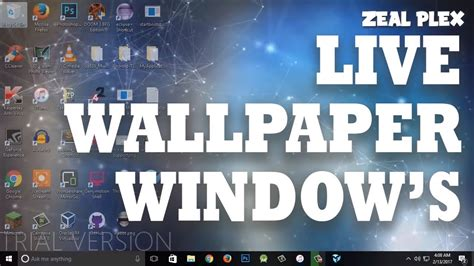 How To Make An Animated Wallpaper Windows 10 - how to get animated wallpapers on windows 10 2017