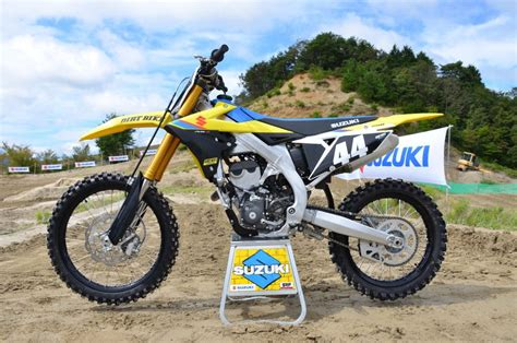2019 suzuki 250f 2019 suzuki rm z250 impression dirt bike magazine