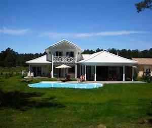 Villa bora bora a 5 kms darcachon sur le golf de a for Chambre d hote golf de gujan mestras