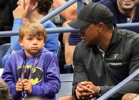 Coronavirus: Tiger Woods battling son Charlie for green ...