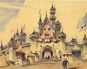 Disneyland Concept Art - Castle | THEMED | Parks ...