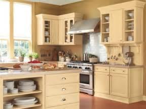 cottage kitchen backsplash buttery soft kitchen paint color homeportfolio