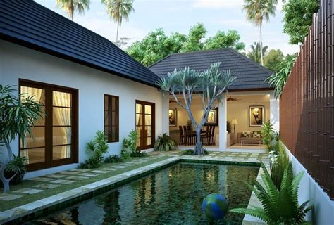 beautiful modern tropical exterior house design