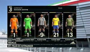 Juventus FC 2017 18 Kits PES 2013 PATCH PES New