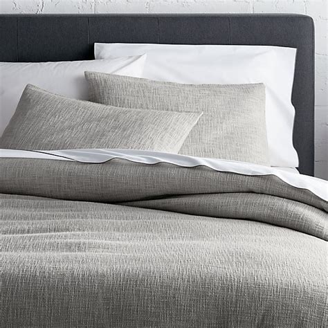 grey king size duvet cover lindstrom grey full queen duvet cover crate and barrel