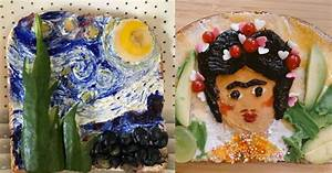 Enjoy, These, Classic, Works, Of, Art, Reinterpreted, As, Toast