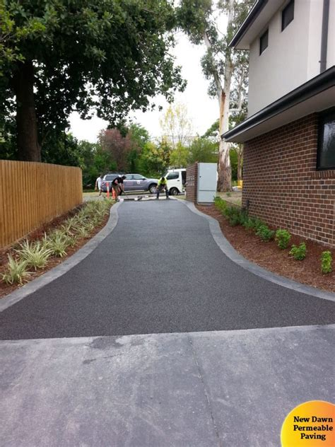 permeable driveway solutions tree protection zone permeable paving new dawn paving