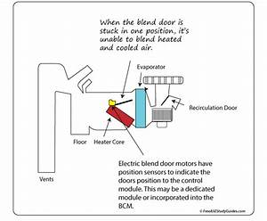 Temperature Blend Door Actuator