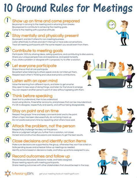 ground rules  meetings effective leadership