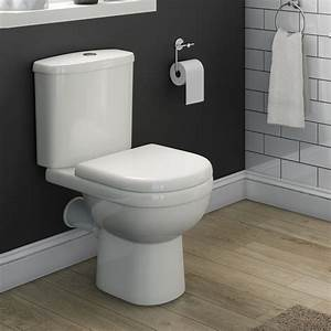 Vellamo Connect Close Coupled Toilet With Soft Close Seat