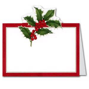 bridal luncheon christmas die cut place cards paperstyle